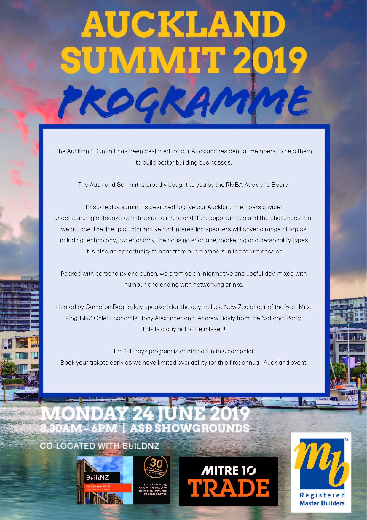 Display event - Auckland Summit 2019